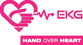 Hand Over Heart EKG